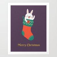 Day 15/25 Advent - Merry… Art Print