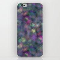 Dark holographic iPhone & iPod Skin