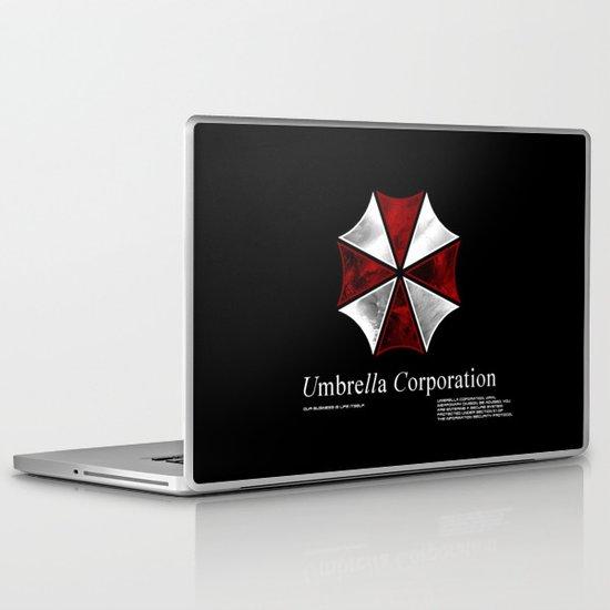 Resident Evil Umbrella Corporation Laptop Ipad Skin