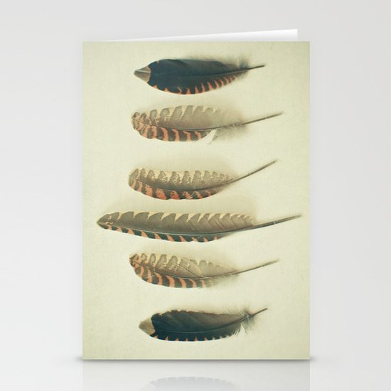Feathers #2 Stationery Card