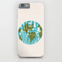 Help The Environment iPhone 6 Slim Case