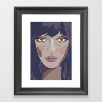 I Am And I Am Not (Vacan… Framed Art Print
