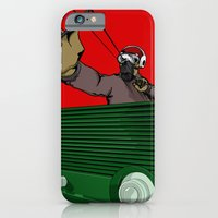 iPhone & iPod Case featuring SlingShotta by happytunacreative