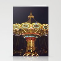 Night Spin Stationery Cards