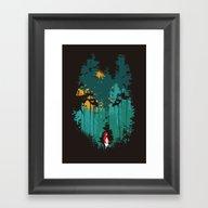 The Woods Belongs To Me Framed Art Print