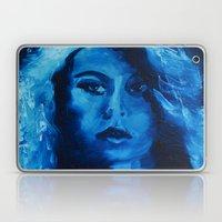 THE BLUE QUICK PORTRAIT Laptop & iPad Skin