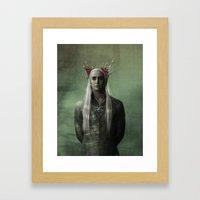 The Great King Thranduil Framed Art Print