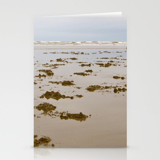 In Search of Razor Clams Stationery Card