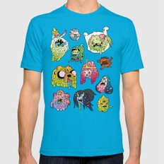 After the Great Mushroom War Mens Fitted Tee Teal SMALL