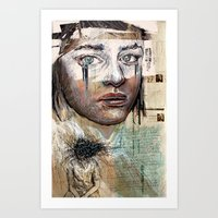 Indelicate Eyes Art Print