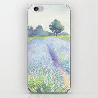 Lavender Fields iPhone & iPod Skin