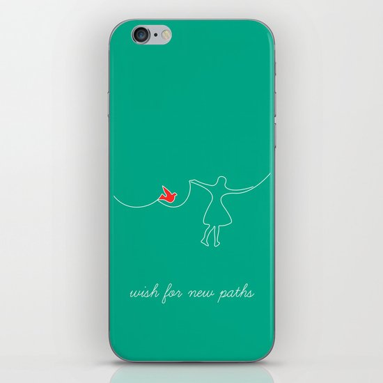 wish for new paths iPhone & iPod Skin