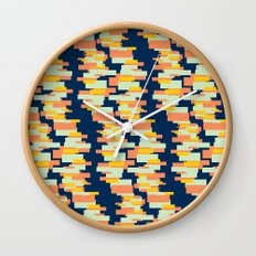 BP 62 Rectangle Stripes Wall Clock