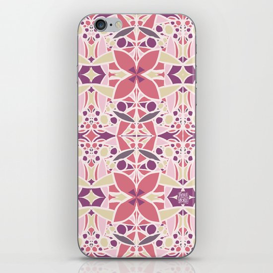 Petal Pusher iPhone & iPod Skin