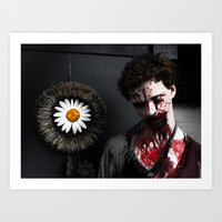 Some Kind Of Zombie Art Print