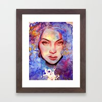 Passion And Tea Framed Art Print
