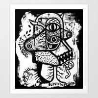 Blind Worship - The Prin… Art Print