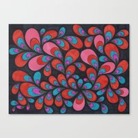 Quantum Entanglement Canvas Print
