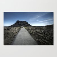 craters of the moon. Canvas Print