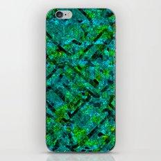 Vitrage (Turquoise) iPhone & iPod Skin