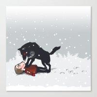 snowtime Canvas Print