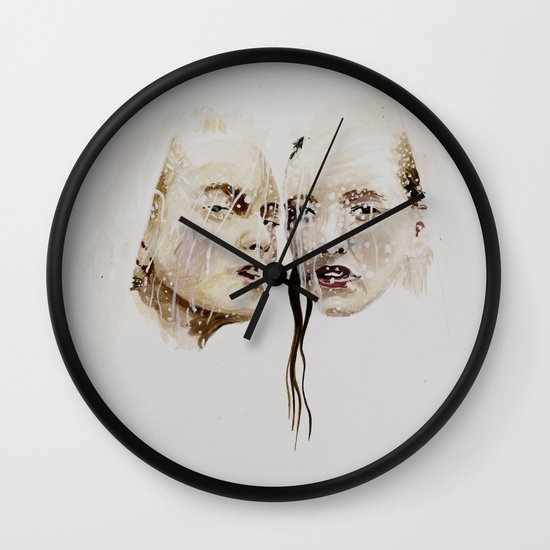 rain (autumn) Wall Clock