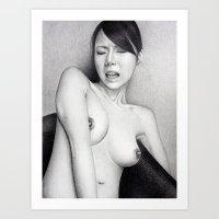 Yoko Art Print