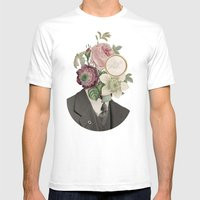 True Affection Mens Fitted Tee White SMALL
