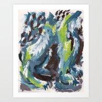Standing Art Print