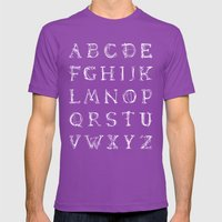 ABC - Lamenta (inverted) Mens Fitted Tee Ultraviolet SMALL