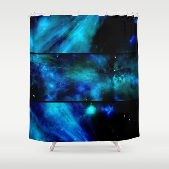 Kitchen Window Uptown Coffee Festival 2016: Windows To A Space View Shower Curtain By Minx267