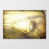 Vintage Headlamp Canvas Print