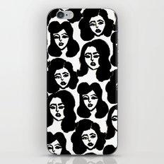 Retro Girls iPhone & iPod Skin