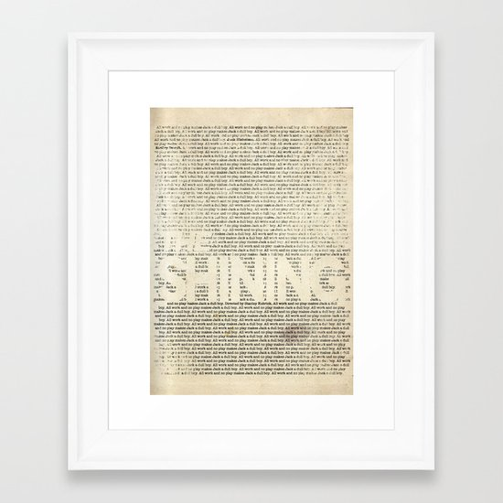 The Shining Framed Art Print