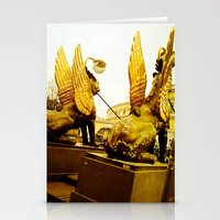 The Gilded Gold. Stationery Cards