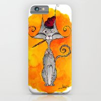 iPhone & iPod Case featuring Dalí Cat by  MaiCat