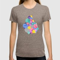 What's Inside Is More Th… Womens Fitted Tee Tri-Coffee SMALL