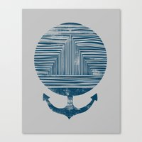 Deep End Canvas Print
