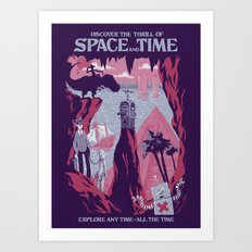 Space And Time Art Print