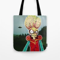 MARS ATTACKS LEADER Tote Bag