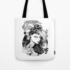 Be one with the wild Tote Bag