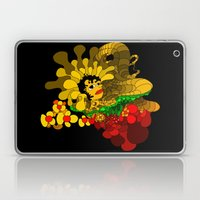 Beheaded with Flowers Laptop & iPad Skin