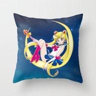 Bishoujo Senshi Sailor M… Throw Pillow
