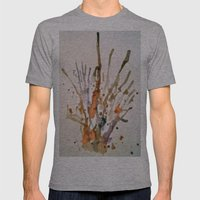 Burst 2 Mens Fitted Tee Athletic Grey SMALL
