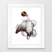 Toot! | Collage Framed Art Print