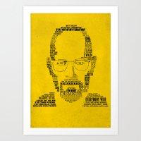 Breaking Bad:  Walter Wh… Art Print
