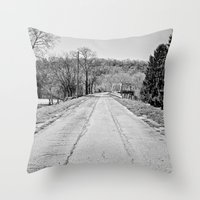 Long Road To Ruin Throw Pillow