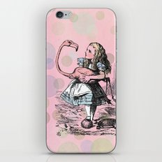 Alice plays Croquet iPhone & iPod Skin