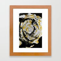 i fell in love with the sun Framed Art Print