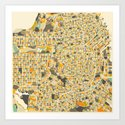 San Francisco Map Art Print